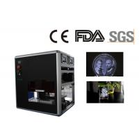 Quality Professional 3D Glass Crystal  Laser Engraving Machine , Made in China for sale