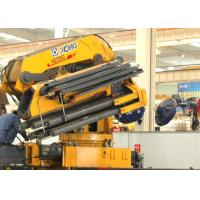 Durable XCMG 25 Ton Knuckle Boom Truck Mounted Crane Driven By Hydraulic
