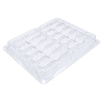 China Anti-Static Plastic Packaging Tray for 10-count SFP SFP+ Transceiver on sale
