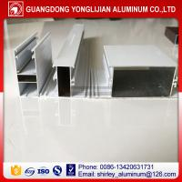 Buy cheap Powder coated white color auminum extrusion window profiles Ghana market product