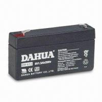 China 6V Sealed Rechargeable Battery with 1.3Ah Rated Capacity on sale