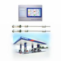 China Gas stations Tank Remote Control 7 Can Monitor Oil float Level Gauge on sale