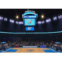 Quality Basketball Scoreboard Video Cube Screen P3 3mm , Full Color 3D LED Display for sale