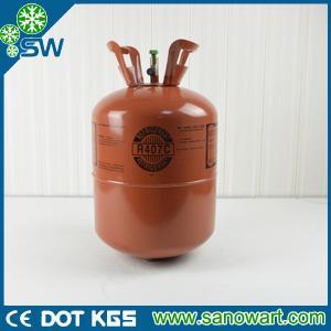Quality 25LBS Refrigerant gas r407c DOT cerificate for sale