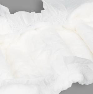 China All Size Newborn Magic Tape Adjustable Waist Organic Cotton Diapers on sale