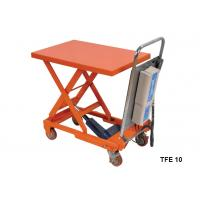 Quality Portable Electric Pallet Lift Table With Integral Lifting Pump Structure for sale
