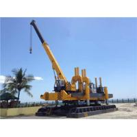 Quality Rotary Hydraulic Piling Machine Fast Piling Speed 500T Piling Capacity for sale