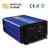 China Hanfong ZA600W Excellent quality low price pure sine wave inverters 600W power 12v 220v High Efficiency hanfong factory on sale