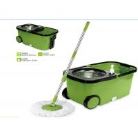 China Plastic Powerful Cleaning 360 Rotating Mop , Clean Spin 360 Microfiber Mop on sale