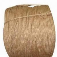 Quality No Knots Jute Twine/Rope/Jump Rope/Cord Trims/Wire Rope, Made of 100% Jute, 3-30m for sale