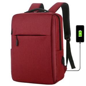 China Anti Theft USB Fashionable Laptop Backpack For Men And Women on sale