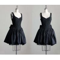 China Short Cocktail Party Dresses;black;skit petticoat underdress on sale