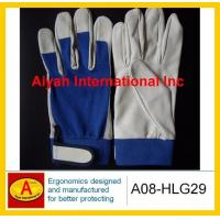 Quality Pig Leather Work Glove  (A08-HLG29) for sale