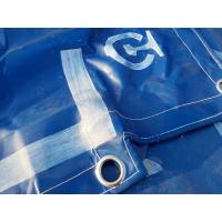 Quality Waterproof PVC Coated Tarpaulin Fabric Truck Cover For Raw Materials Covers for sale