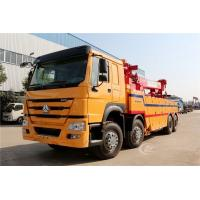 Quality Sinotruk Howo 40 Tons Flatbed Recovery Truck Heavy Duty 8X4 371HP Customized Color for sale