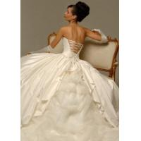 Quality Perfect Ivory Wedding Bride/Bridesmaid Ball Prom Dress for sale