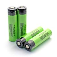 Genuine Panasonic NCR18650B 3400mah 3.7 volts rechargeable lithium battery protection with button top