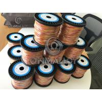 Buy cheap Dia 0.67mm Type K KP KN Thermocouple Wire / Cable 500 Degree Fiberglass product