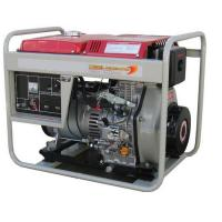 Quality Air cooled Portable Small Diesel Generator 4.5kva 5kva with Wheels for sale