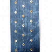 Quality Embroidered Curtain Organza, Made of 100% Polyester, Measures 280cm for sale