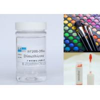 Quality Cosmetic Raw Material Silicone Dimethicone Oil For Skin Protection / Hair Sprays for sale