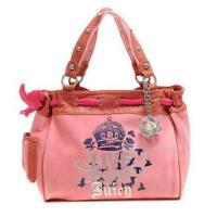 China Juicy Couture Live For Juicy Daydreamer Handbag Pink on sale
