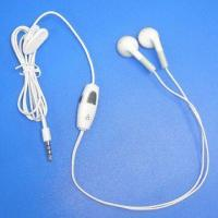 Buy cheap Good-quality iPhone Handsfree Headset with Omni-directional Polar Pattern product