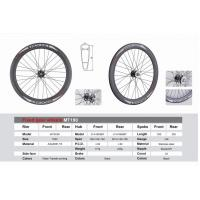 Buy cheap 700C Fixed Gear Wheels Water Transfer Printing Aluminum Bicycle Wheel MTSC60 from wholesalers