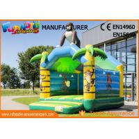China Customized Size Gorilla Inflatable Jump Bouncy Castles With 1 Year Warranty on sale
