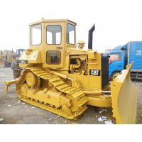 Quality Used Caterpillar D4H Second Hand Bulldozers 3 Shanks Ripper CAT 3204 Engine for sale