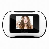 Quality 2.5-inch LCD Screen Digital Door Peephole Viewer with 35 to 90mm Thickness for sale