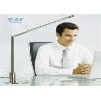 Buy cheap Silver Metal Switch Dismontable Desk Lamp with 360 ° Rotation Metal Body Two USB from wholesalers
