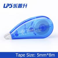 Quality Flexible and smooth Mini Correction Tape Roller Blue Color 5mm*8m for sale