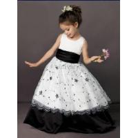Quality White & Black Flower Girl Dresses for sale