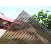 Quality 8mm Brown Colour Polycarbonate Hollow Sheet for sale