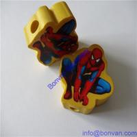 Quality printing customized pencil topper eraser,customized gift pencil topper eraser for sale