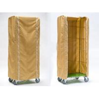 Quality Light Duty Roll Container Cover Weather Proof Customized Size PE Material for sale