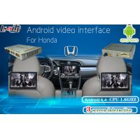 Quality Honda Multimedia Video Interface Android Navigation , Headrest Dispaly , Mobile Phone Mirrorlink for sale