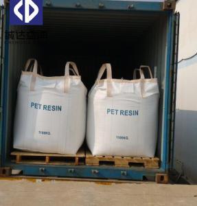 China Chemical Virgin PP Super Big Bag 1000KG Bulk Bags For Pet Resin 93 X 93 X 120cm on sale