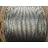 Quality ASTM A 475 Class A Metal Galvanised Steel Rope Cable For Communication Tower for sale