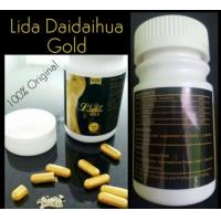 Quality Lida Gold Black slimming capsules Lida daidaihua Gold Weight Loss Capsule Plant Extract Herbal Capsule for sale
