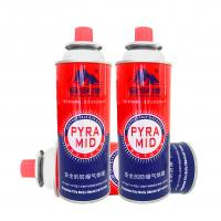 China 400ml 227g portable camping butane gas canister manufacturing on sale