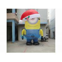 Buy PVC Tarpaulin Inflatable Cartoon Character Giant Inflatable Minions Customized at wholesale prices