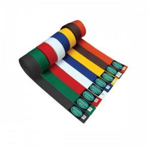 Quality Customized Black , Red , Orange Judo  Belt color belts in martial arts for sale