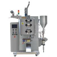 Buy cheap High Precision Sauce Packaging Machine / 3.8KW Power Food Packaging Equipment product