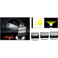 Quality Black Outside Commercial LED Floodlights , Led Security Flood Light Three Years Warranty for sale