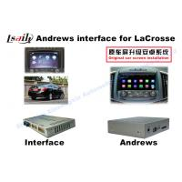 Buy cheap Android Multimedia system Interface Buick Lacrosse car gps navigation system from wholesalers