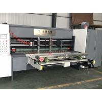 Quality Electrical Adjust Type Carton Box Rotary Slotter Machine 50mm Wall Thickness for sale