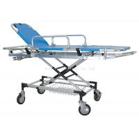 Quality Manual Patient Transfer Trolley , Ambulance Emergency Stretcher Trolley for sale