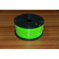 Quality Green 3D Printer PLA Filament Grade A For Building 3D Printing for sale